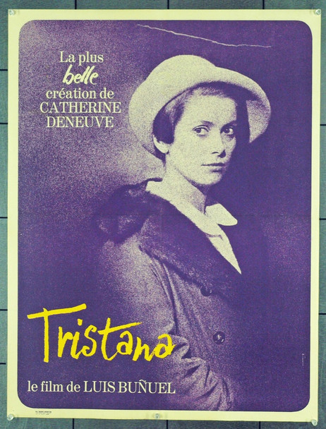 TRISTANA (1970) 21294 Original French Poster (24x31). Folded. Very Fine.