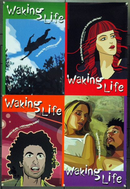 WAKING LIFE (2001) 21600 Original 20th Century-Fox One Sheet Poster (27x40). Unfolded. Very Fine Plus.