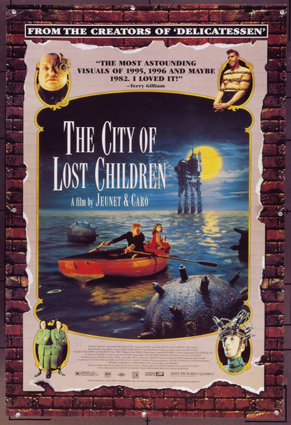 CITY OF LOST CHILDREN, THE (1995) 21692 Original Sony Pictures One Sheet Poster (27x41). Unfolded. Very Fine.