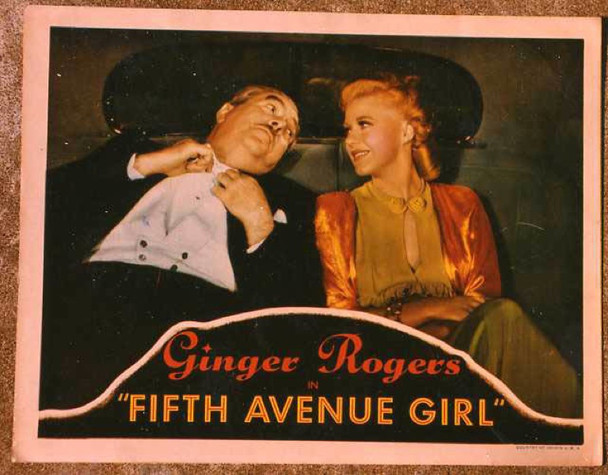 5TH AVE GIRL (1939) 14994 Original Scene Lobby Card (11x14) Very Good Condition