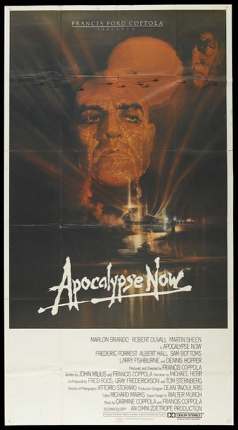 APOCALYPSE NOW (1979) 12739 Original United Artists International Three Sheet Poster (41x76).  Folded.  Very Fine Plus.