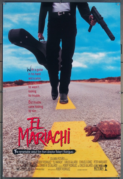 EL MARIACHI (1993) 7848 Original Columbia Pictures One Sheet Poster (27x41).  Unfolded.  Fine Plus Condition