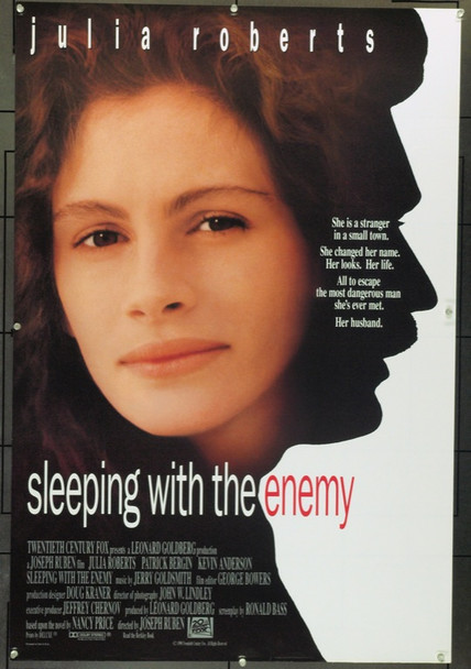 SLEEPING WITH THE ENEMY (1991) 3933 Original 20th Century-Fox One Sheet Poster (27x41).  Double-Sided.  Rolled.  Very Fine.