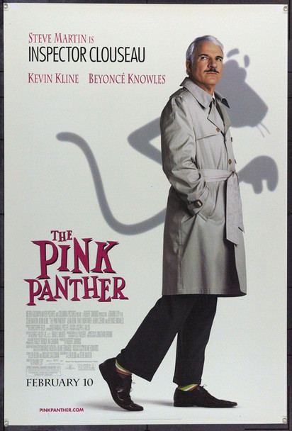 PINK PANTHER, THE (2006) 22158 Original Columbia Pictures Style A Advance One Sheet Poster (27x41).  Double-Sided.  Rolled.  Very Fine.