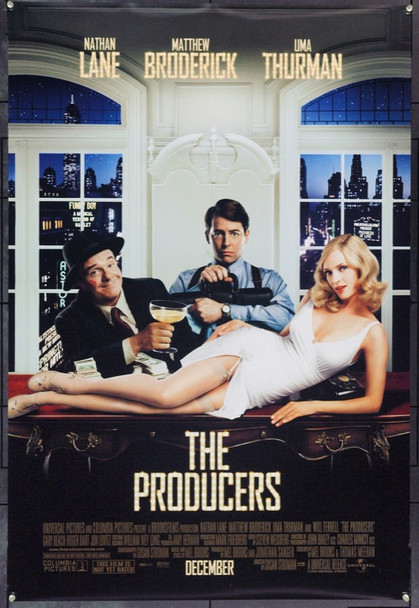 PRODUCERS, THE (2005) 22162 Original Universal Pictures One Sheet Poster (27x41).  Double-Sided.  Rolled.  Very Fine.