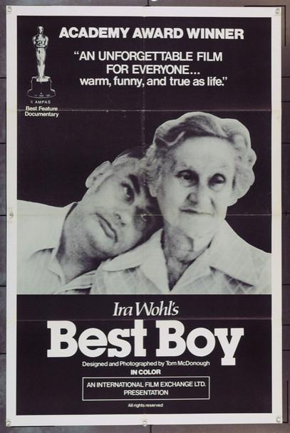 BEST BOY (1979) 1110 Original International Film Exchange One Sheet Poster (27x41). Folded. Very Fine.