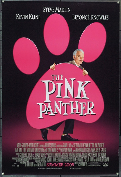 PINK PANTHER, THE (2006) 22159 Original Columbia Pictures Style B Advance One Sheet Poster (27x41).  Double-Sided.  Rolled.  Very Fine.