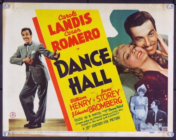 DANCE HALL (1941) 2530 Original 20th Century-Fox Title Lobby Card (11x14). Fine.