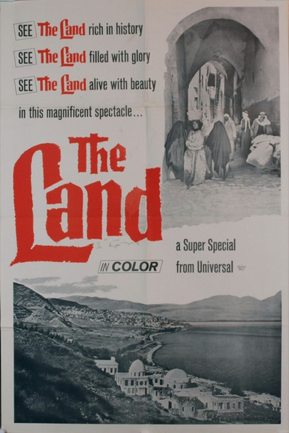LAND, THE ( 1969) 3373 Original Universal Pictures One Sheet Poster (27x41).  Folded.  Very fine condition.