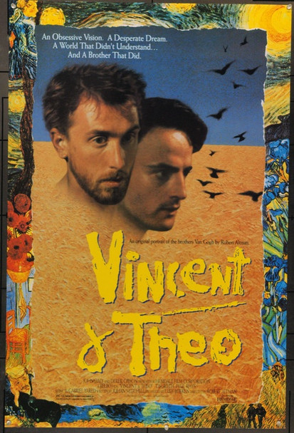 VINCENT AND THEO (1990) 3938 Original Hemdale Film One Sheet Poster (27x41).  Rolled.  Very Fine.