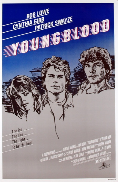 YOUNGBLOOD (1986) 1689 Original MGM/United Artists One Sheet Poster (27x41). Rolled. Very fine condition.