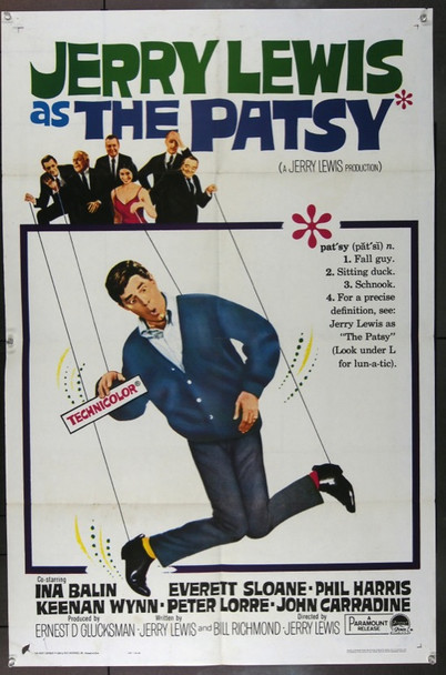 PATSY, THE (1964) 747 THE PATSY Original Paramount Pictures One Sheet Poster (27x41). Folded. Fine Plus.