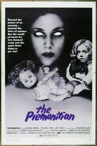 PREMONITION, THE (1976) 15301 Original AVCO-Embassy Pictures One Sheet Poster (27x41).  Folded.  Very Fine.