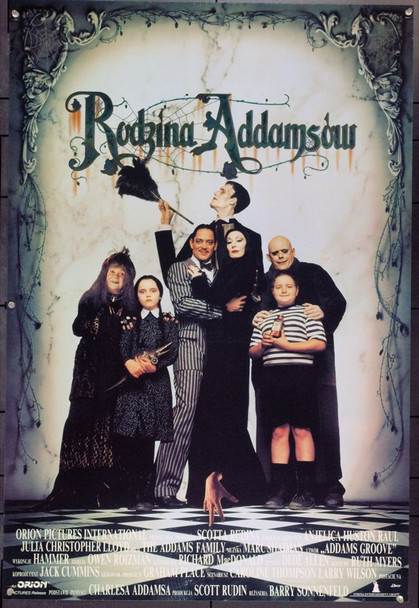 ADDAMS FAMILY, THE (1991) 22051 Original Polish Poster (27x39). Very Fine.