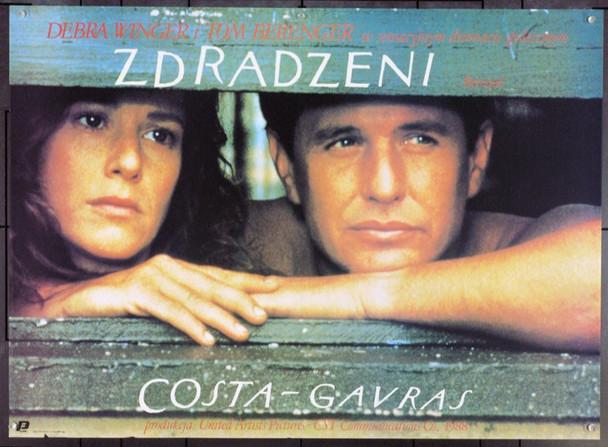 BETRAYED (1988) 22053 Original Polish Poster (27x36). Very Fine.
