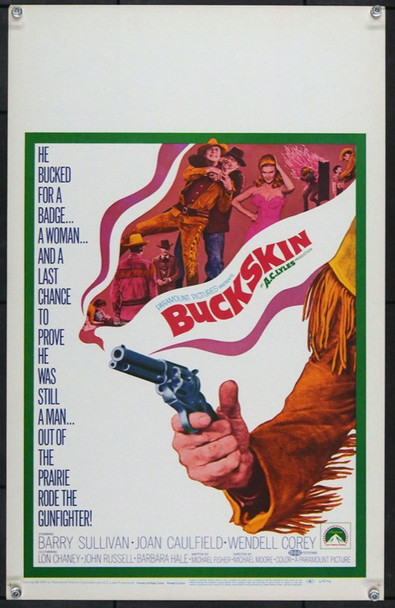 BUCKSKIN (1968) 21838 Original Paramount Pictures Window Card (14x22). Very Fine.