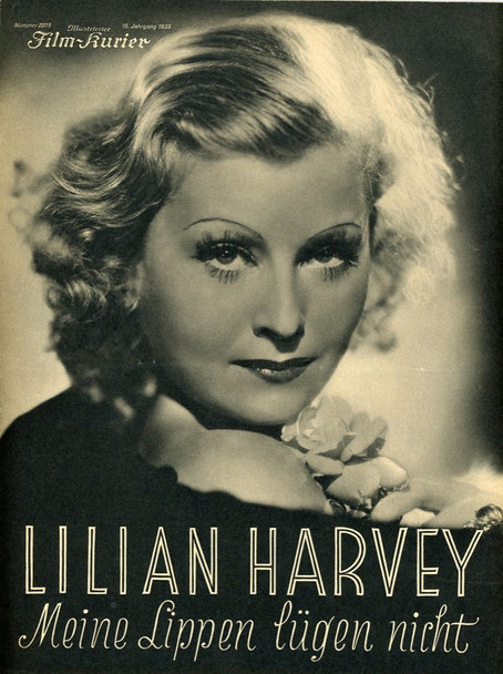 MY LIPS BETRAY (1933) 21666 Original 8-Page German Program (8x11). Very Fine Plus.