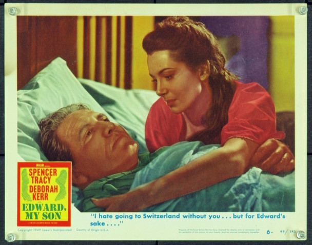 EDWARD, MY SON (1949) 21631 Original MGM Scene Lobby Card (11x14). Very Fine.