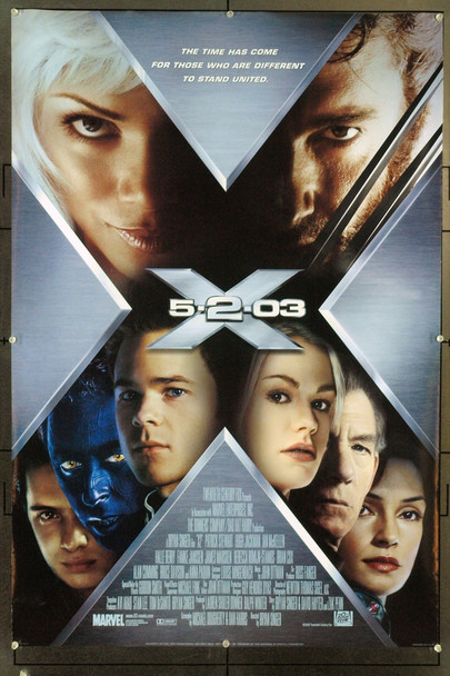 X2 (2003) 20740 Original 20th Century-Fox Style C One Sheet Poster (27x40). Rolled. Very Fine.