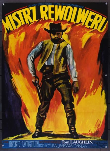 MASTER GUNFIGHTER, THE (1975) 22696 Original Polish Poster (27x31).  Maria Ihnatowicz Artwork.  Folded.  Very Fine.