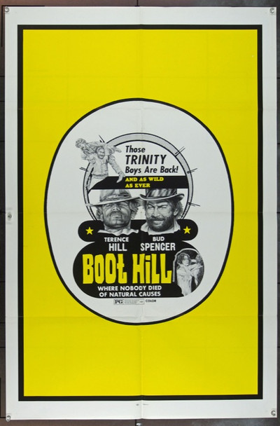 COLLINA DEGLI STIVALI, LA (1969) 22706  [BOOT HILL] Original Film Ventures International One Sheet Poster (27x41).  Folded.  Very Fine.