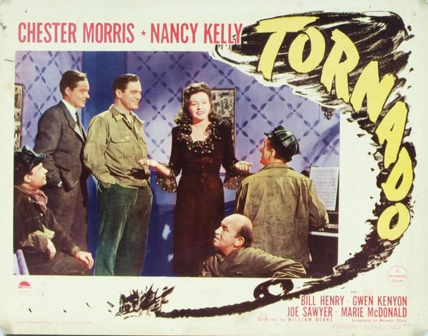 TORNADO (1943) 6533 Original Paramount Pictures Scene Lobby Card (11x14).  Good condition +