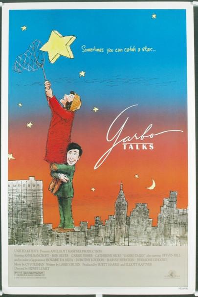 GARBO TALKS (1984) 7297 Original MGM One Sheet Poster (27x41). Near Mint. Unfolded.