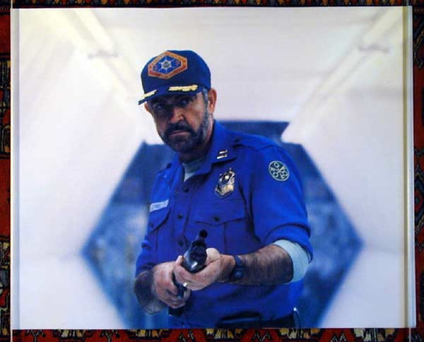 OUTLAND (1981) 15394 Original Warner Brothers Oversized Color Still Photograph (16x20).  Fine Condition.