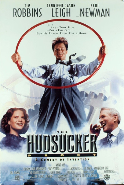 HUDSUCKER PROXY, THE (1990) 19770 Original Warner Brothers One Sheet Poster (27x41). Rolled. Fine Plus Condition.