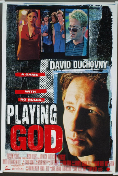 PLAYING GOD (1997) 19781 Original Touchstone Pictures One Sheet Poster (27x41). Rolled. Double-Sided. Very Fine Condition.
