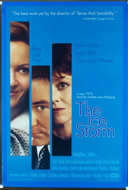 ICE STORM, THE (1997) 19790 Original 20th Century Fox One Sheet Poster (27x41). Rolled. Very Fine Condition.