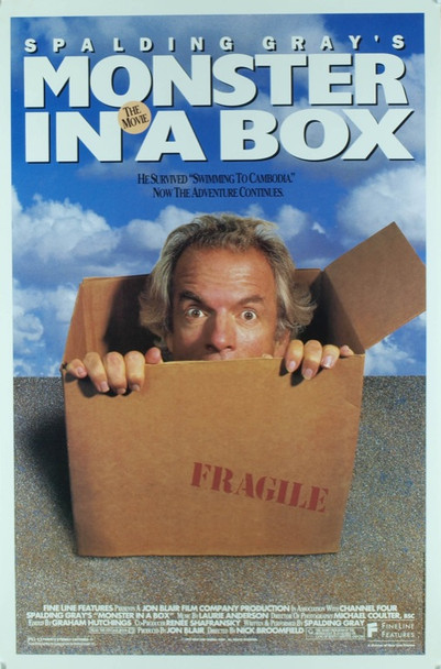 MONSTER IN A BOX (1992) 19791 Original Fine Line Features One Sheet Poster (27x41).  Rolled.  Fine Plus Condition.
