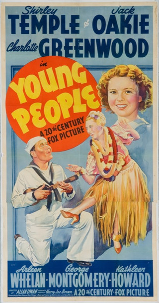 YOUNG PEOPLE (1940) 19951 20th Century Fox Three Sheet Poster (41.5 x 80.5). Stone lithograph. Linen-backed. Fine condition.