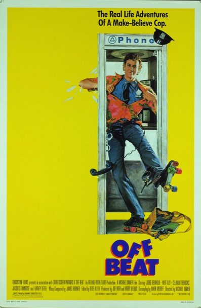 OFF BEAT (1986) 20417 Original Touchstone Pictures One Sheet Poster (27x41).  Rolled.  Very Fine Condition.