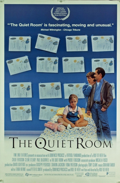 QUIET ROOM, THE (1996) 20418 Original Fine Line Features One Sheet Poster (27x41).  Double-sided.  Rolled. Very fine condition.