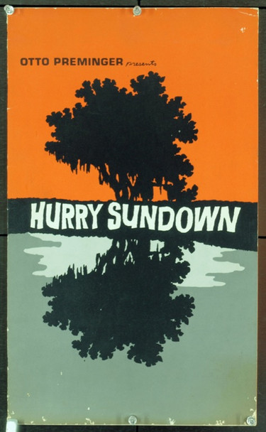HURRY SUNDOWN (1967) 20508 Original Paramount Pictures Deluxe Pressbook (12x20). Twenty pages. Very good condition. Art by David Weisman.