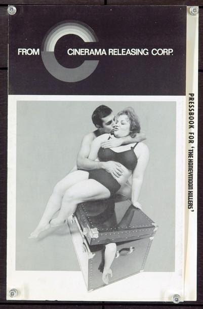 HONEYMOON KILLERS, THE (1970) 20989 Original Cinerama Releasing Pressbook (9x14). Herald Included. Near Mint.