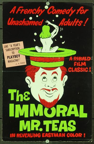 IMMORAL MR. TEAS, THE (1959) 20993 Original PAD-RAM Pressbook (11x17). Very Fine.