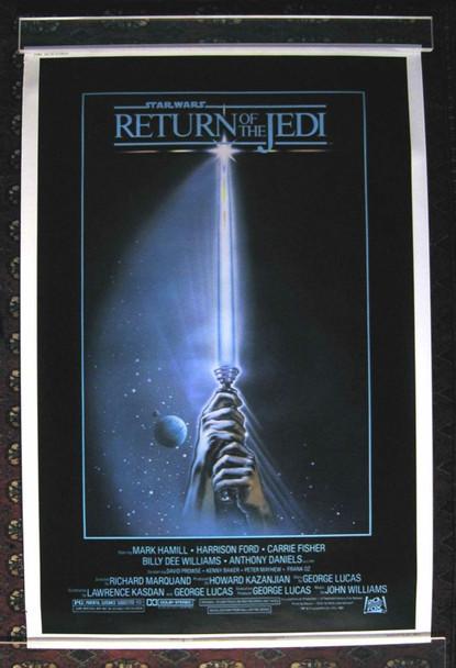 RETURN OF THE JEDI (1983) 18138 Original 20th Century-Fox 40X60 Poster. Very Fine.