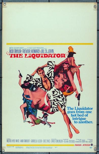 LIQUIDATOR, THE (1966) 21884 MGM Window Card.  (14x22).  Very Fine.