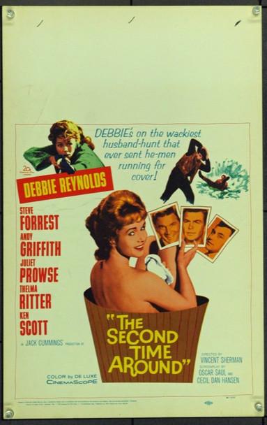 SECOND TIME AROUND, THE (1961) 21920 Original 20th Century-Fox Window Card (14x22).  Unfolded.  Very Fine.