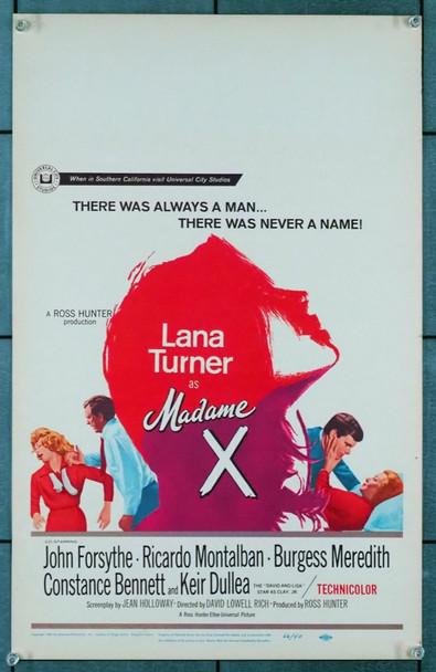 MADAME X (1966) 21890 Original Universal Pictures Window Card (14x22).  Very Fine.