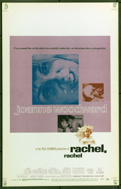 RACHEL, RACHEL (1968) 21917 Original Warner Brothers Window Card (14x22).  Unfolded.  Very Fine.