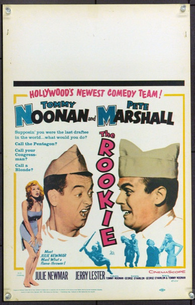 ROOKIE, THE (1959) 21919 Original 20th Century-Fox Window Card (14x22).  Unfolded.  Very Fine.
