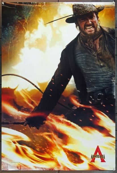 AUSTRALIA (2008) 20704 Original 20th Century-Fox Style A Advance One Sheet Poster (27x40). Hugh Jackman. Unfolded. Very Fine Plus.