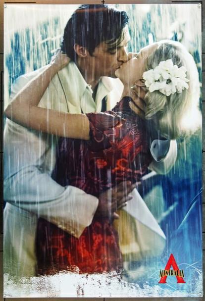 AUSTRALIA (2008) 20705 Original 20th Century-Fox Style B Advance One Sheet Poster (27x40).  Kidman and Jackman.  Unfolded.  Very Fine Plus.