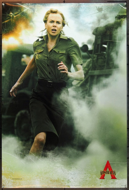 AUSTRALIA (2008) 20706 Original 20th Century-Fox Advance One Sheet Poster (27x40).  Nicole Kidman.  Unfolded.  Very Fine Plus.