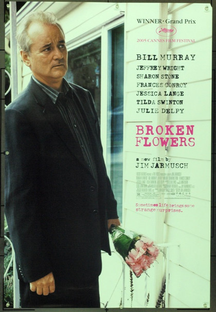 BROKEN FLOWERS (2005) &20684 Original Focus Features Style A One Sheet Poster (27x41).  Rolled.  Very Fine