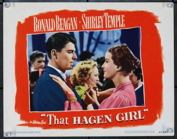 THAT HAGEN GIRL (1947) J21728 Warner Brothers Original Lobby Scene Card.  11x14  Very Fine Plus