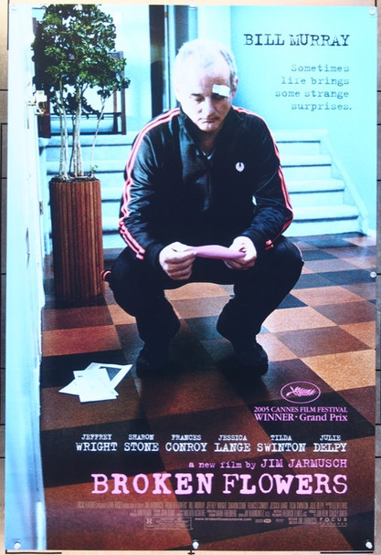 BROKEN FLOWERS (2005) 20685 Focus Features One Sheet Poster (27x41). Double-sided. Rolled. Style B  Very Fine Condition